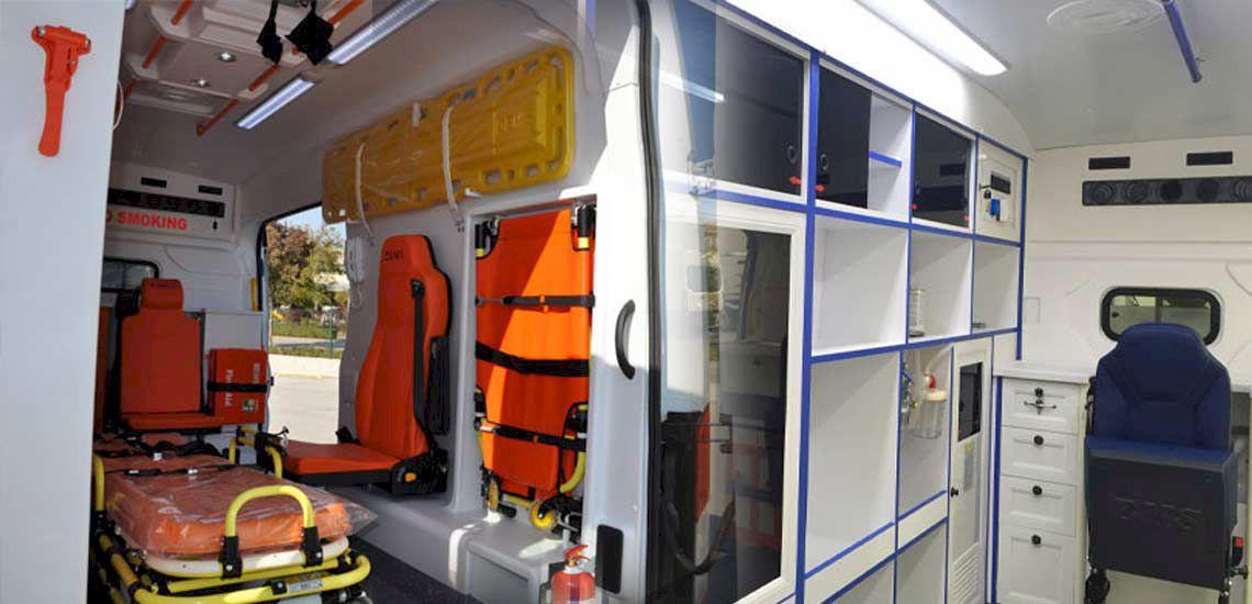 Tiêu chuẩn trang thiết bị bên ngoài xe ô tô cứu thương