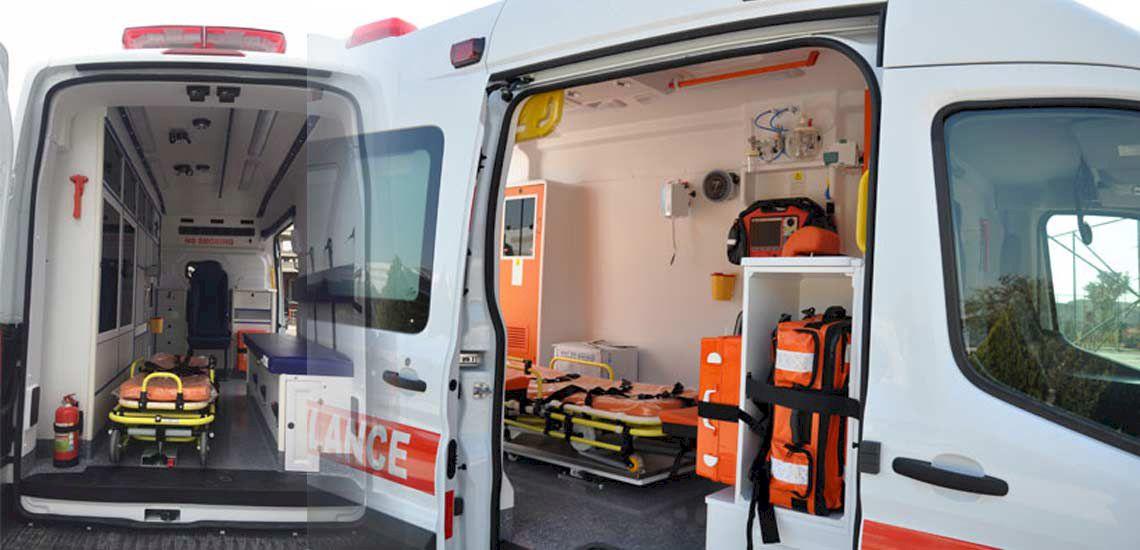 Tiêu chuẩn trang thiết bị bên trong xe ô tô cứu thương