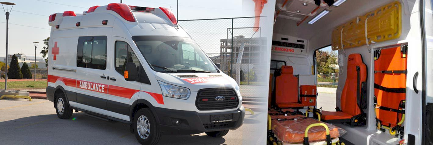 Xe cứu thương ford transit nhập khẩu