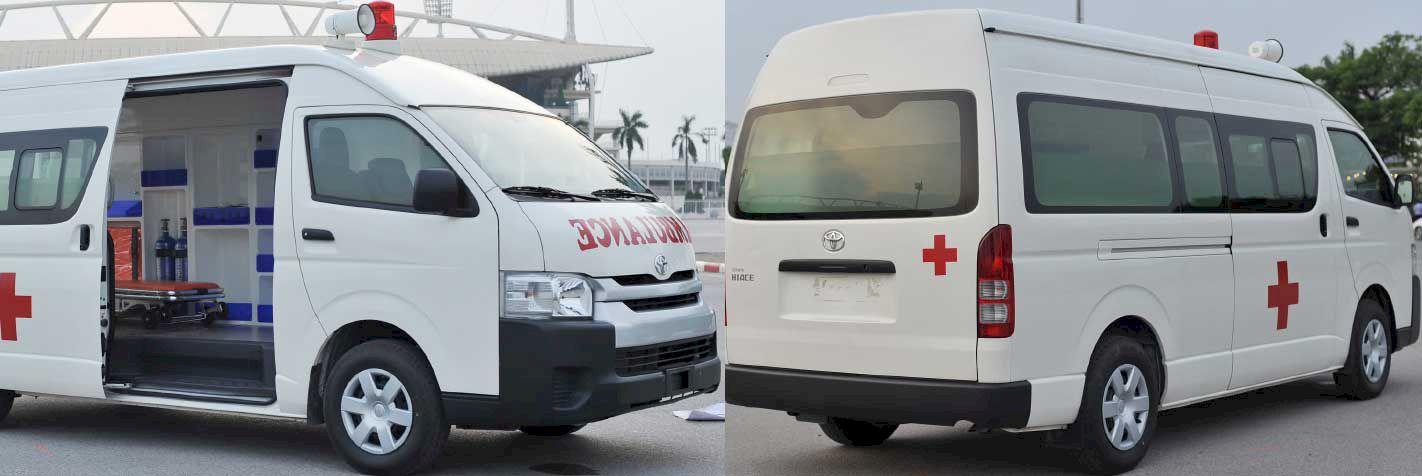 Xe ô tô cứu thương Toyota Hiace