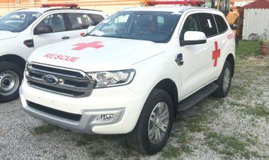 Ngoại thất Xe ô tô cứu thương Ford Everest