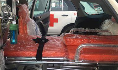 Nội thất Xe ô tô cứu thương Ford Everest